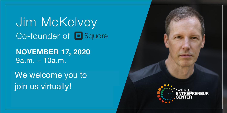 Speaker Series: Jim McKelvey, Co-Founder of Square