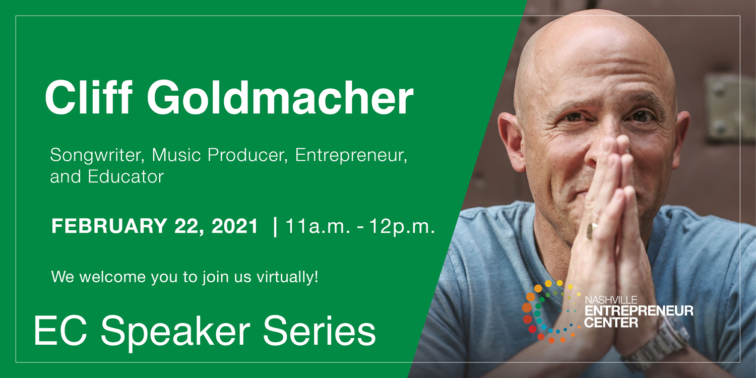 EC Speaker Series: Cliff Goldmacher