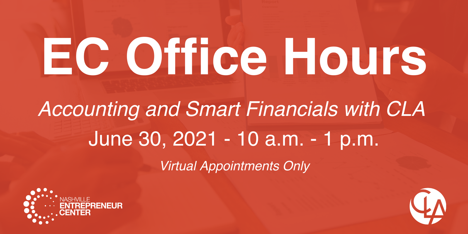 OFFICE HOURS: Accounting and Smart Financials w/ CLA
