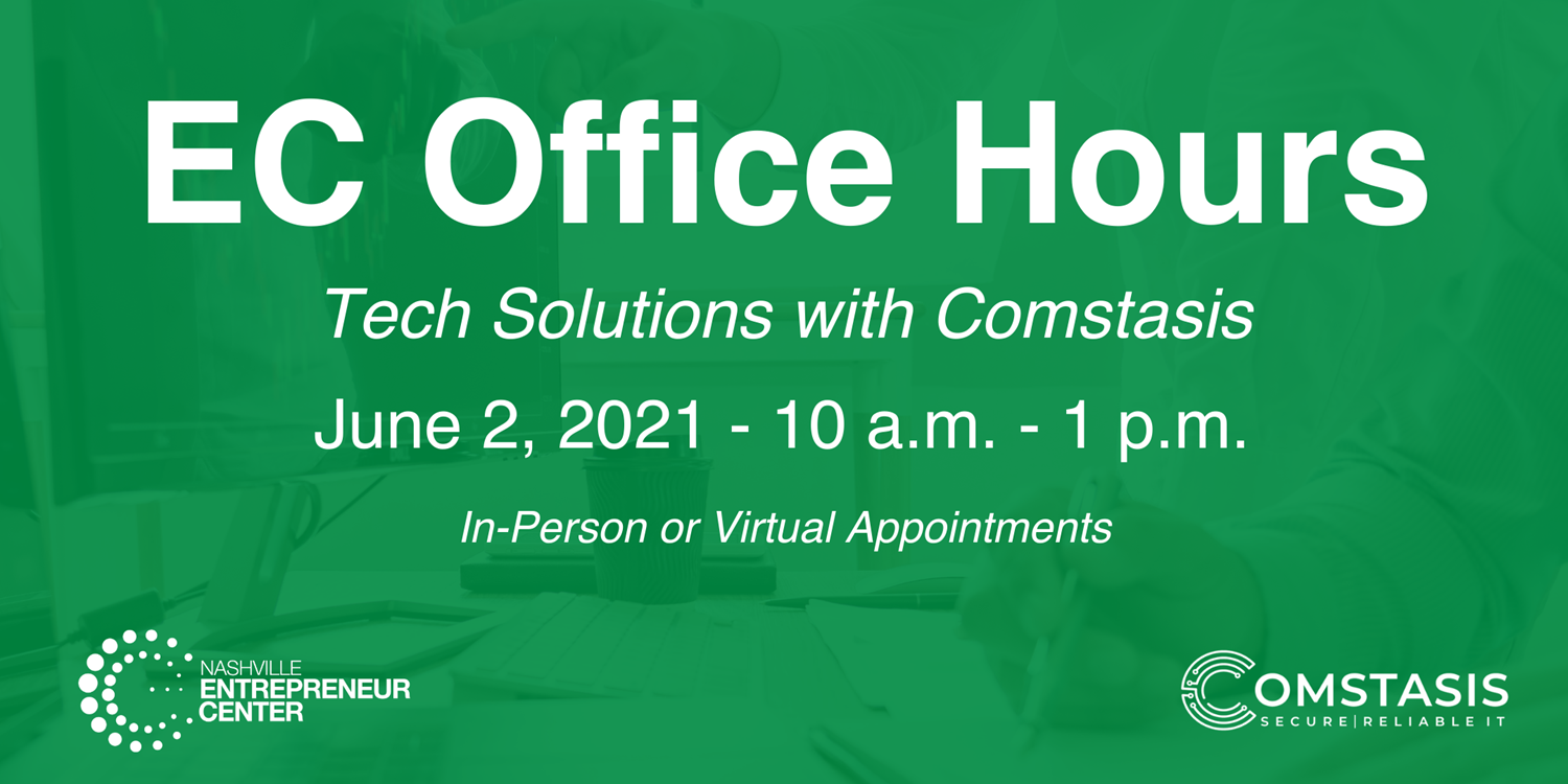 OFFICE HOURS: Tech Solutions w/ Comstasis