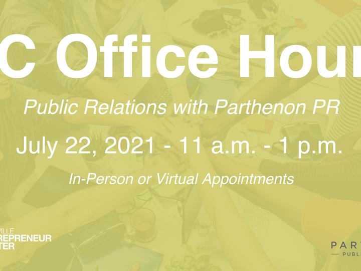 OFFICE HOURS: Public Relations w/ Parthenon PR
