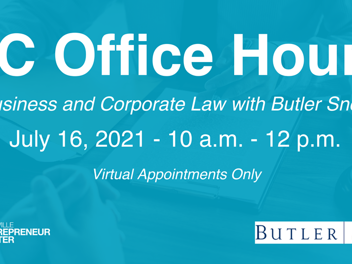 Business and Corporate Law w/ Butler Snow
